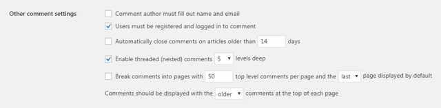 امکان کامنت برای کاربران ثبت نامی