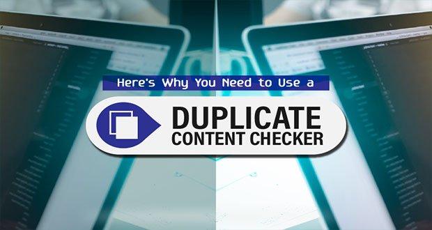 چرا باید از contetn duplicate checker استفاده کنیم؟